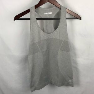 Forever 21 Light Gray Workout Tank Top